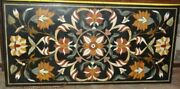 4and039x2and039 Marble Table Top Antique Mosaic Dining Coffee Corner Center Inlay O158