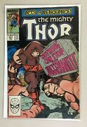 The Mighty Thor 411 Direct Edition 1st App New Warriors Cameo 6.0 Fn 1989