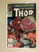The Mighty Thor 411 Direct Edition 1st App New Warriors Cameo 7.0 1989