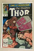 The Mighty Thor 411 Direct Edition 1st App New Warriors Cameo 7.5 1989