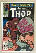 The Mighty Thor 411 Direct Edition 1st App New Warriors Cameo 8.0 Vf 1989
