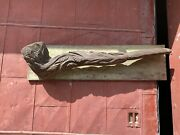 1870s Hand Carved Tobacco Pipe General Store Trade Sign Country Primitive
