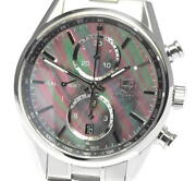Tag Heuer Carrera Car211dba0724 Black Shell Dial Automatic Menand039s Watch_612649