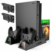 Xbox Cooling Stand Compatible With Xbox One/s/x Dual Controller And Charger Dock