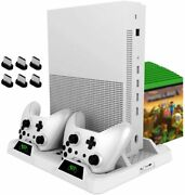 Vertical Cooling Stand For Xbox One/s/x Oivo Cooling Fan With Controller Charger