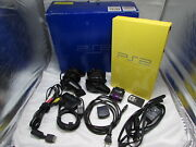 Sony Playstation 2 Light Yellow Game Console Rare Scph-30001 Ntsc-u/c And More