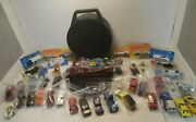 Matchbox Lesney Hotwheels Lot 45 Vintage Cars Trucks 60and039s/70and039s/80and039s W/ Case