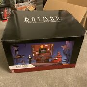 Dc Collectibles Batman The Animated Series Batcave With Alfred Diorama Boxed