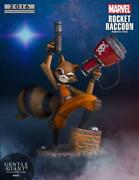 Gentle Giant Rocket Raccoon By Skottie Young Mini Statue Comic Con Limited