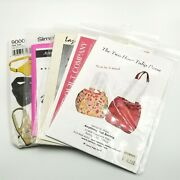 Sewing Patterns Small Purse And Handbag Patterns Lot Of 5 New Uncut Crafters