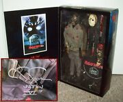 Jason Lives Signed Exclusive Sideshow 12 Figure Friday The 13th Part 6 Voorhees