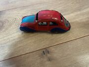 Vintage 1930and039s Juguetes Car Tin Litho Rai Payo With Driver And Passenger