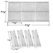 Nexgrill 720-0677,charmglow 720-0536,replacement Cooking Grid And Heat Plate Kit