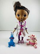 Disney Junior Doc Mcstuffins Wash Your Hands Singing Doll With Stuffy And Lambie