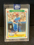 Mike Schmidt 1983 Topps Collectors Edition 2020 Topps Archives Auto 1/1 Hof