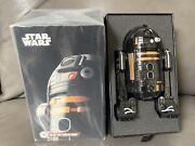 Sphero Star Wars R2-q5 App-enabled Droid W/ Force Band Best Buy Exclusive New