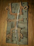 Antique Military Wwii Ice Shoes