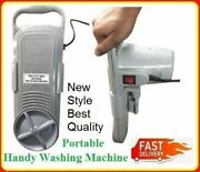 Handy Washing Machine And Unique Clothes New Portable Hot And Cold Water Used Anyw