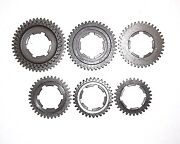 1960/70s Penton/sachs Six-day 125 Complete/matched 6-speed Gear Set Ex Px465