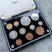1955 South Africa With Gold Coin - Complete Proof Set Mintage 900 Sets
