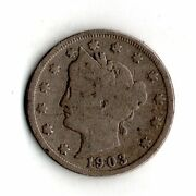 1903 Liberty V Nickel Actual Coin Pictured751