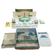 Vintage Early 1950s Louis Marx White House Model With 20 Presidents Original Box