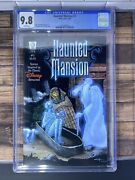 🔥2005 Slg Disney Haunted Mansion 1 Red Foil Logo 1st Cgc Graded 9.6 And 9.8🔥