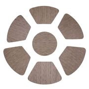 50xround Placemats For Round Table Wedge Kitchen Place Mats With 1 Round Piece