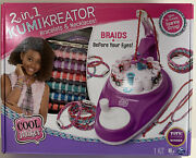 Cool Maker 2 In 1 Kumikreator Bracelet And Necklace Maker Kit New Free Shipping 8+