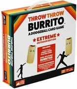 Throw Throw Burrito Extreme Outdoor Edition - A Dodgeball Card Game