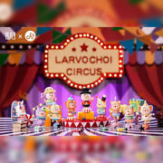 Larvo Choi Circus Blind Box Series By Playgrounders X 1983 Toys