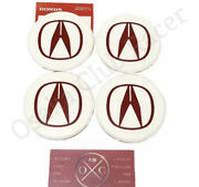 New Oem Acura Integra Type R Wheel Center Cap Usdm Dc2 97-01 98 Genuine Set Of 4