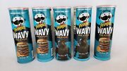 5 Cans Sold Out Pringles Wavy Moa Burger Halo Potato Chips Limited Edition Xbox
