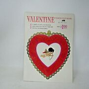 Vintage American Greetings Valentine Punch Out Book Usa