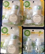 Air Wick Pure Scented Oil Pack Of 2 Fresh Water Refill N Warmer Apple Blossom