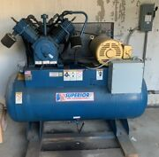 Compressor, Air, 15 Hp, Quincy, With Air Dryer