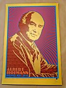 Albert Hoffman Bicycle Day 2021 By Chuck Sperry Gold Variant X/10 Signed