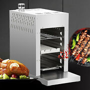Propane Infrared Steak Grill Bbq Stainless Steel Steak Griddle Burner With Tray