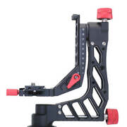 Panning Cantilever Gimbal Tripod Crane Head Arca Fit Clamp For Telephoto Lens