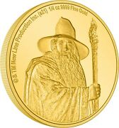 Niue - 2021 - 1/4 Oz Gold Proof Coin- Lord Of The Rings Gandalf The Grey