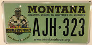 Police State Trooper Ill Children Charity License Plate Hope Wish Granting Child