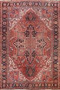 Vegetable Dye Geometric Traditional Area Rug Hand-knotted Oriental Carpet 10x13