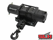 6000 Lb. Utv/atv Winch With Wireless Remote And Synthetic Rope
