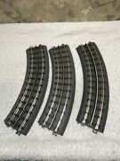 Lot 3 Mth Rail King O Scale Real Trax O-31 Pieces Of Curve Track 40-1002