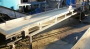 Stainless Steel Belt Conveyor 10 X 10and039 Pacific 1/2 Hp