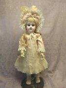 21 3/4 French Bebe Jumeau Bisque Head Original French Body