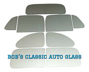 1937 1938 Chevrolet 5 Window Coupe Classic Auto Glass Vintage Chevy New Flat