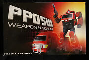 Transformers Igear Weapons Specialist Pp05w Masterpiece G1 Ironhide Misb Usa