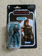 Star Wars The Mandalorian Cara Dune 3.75 Vintage Collection Carded Figure Vc164