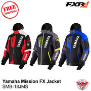 Yamaha Mission Fx Snowmobile Jacket By Fxr Colors 50th Anniversary Black Blue